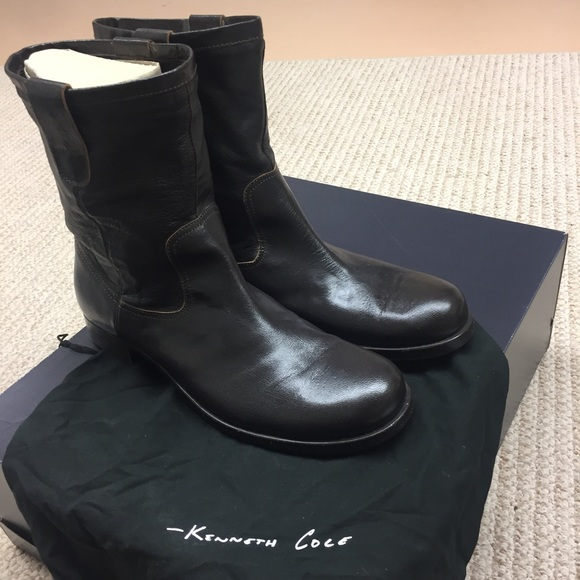 Kenneth Cole Other - Kenneth Cole men's brown leather boots
